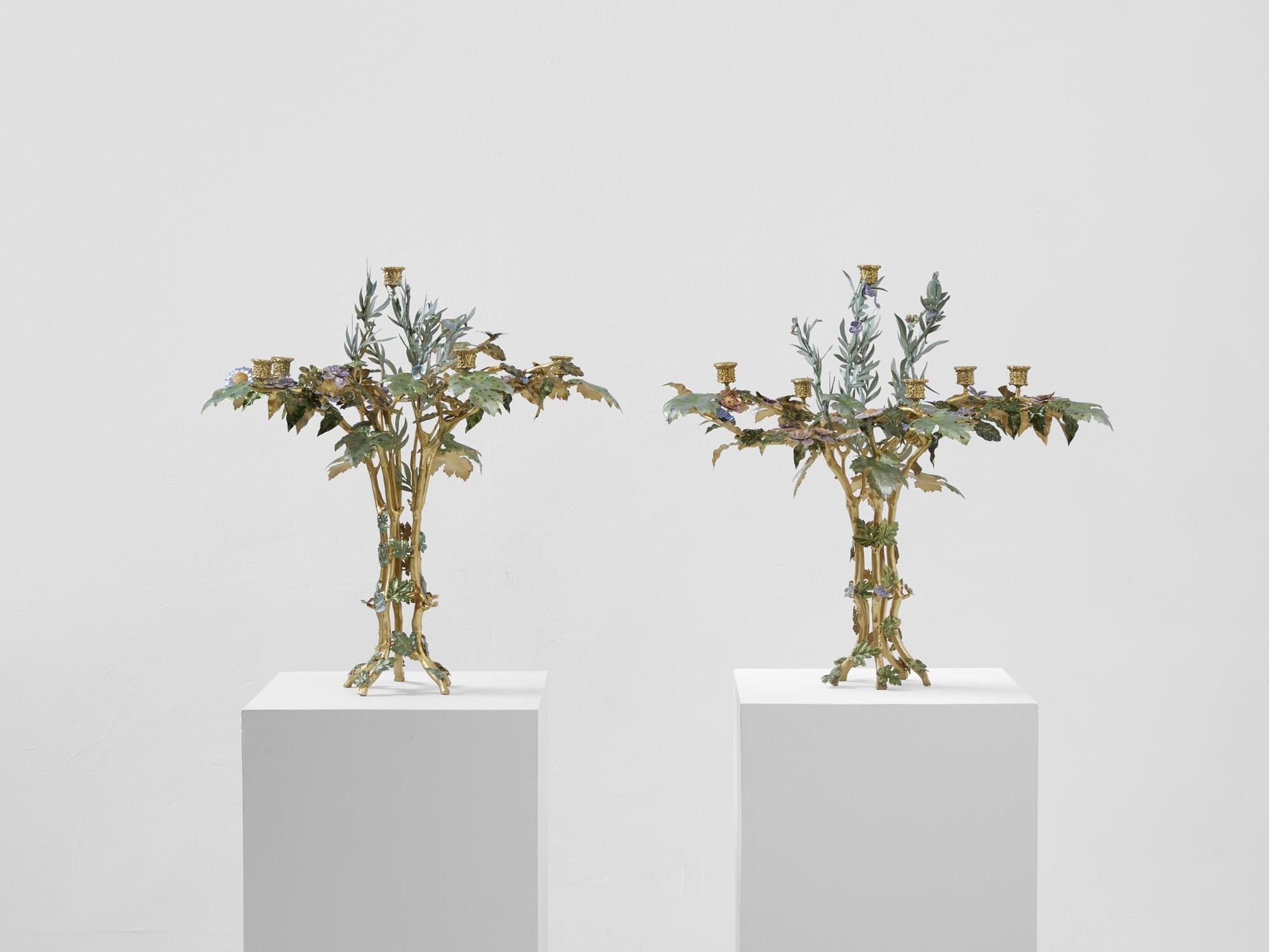 """Joy de Rohan Chabot, Candélabre """"L'arbre de vie"""" (vendu), vue 01"""