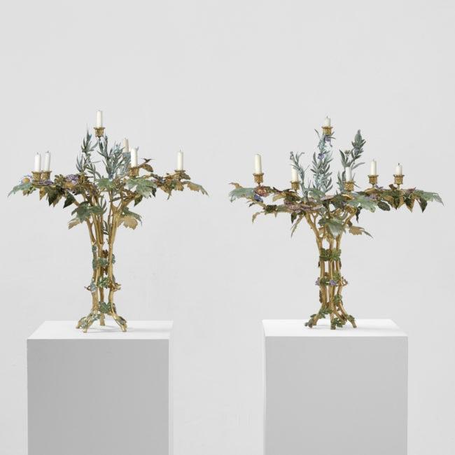 Joy de Rohan Chabot, «L'Arbre de Vie» Candelabra