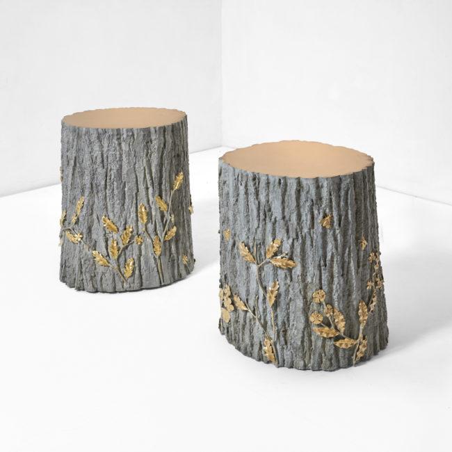 Joy de Rohan Chabot, «Sous bois d'été» side table