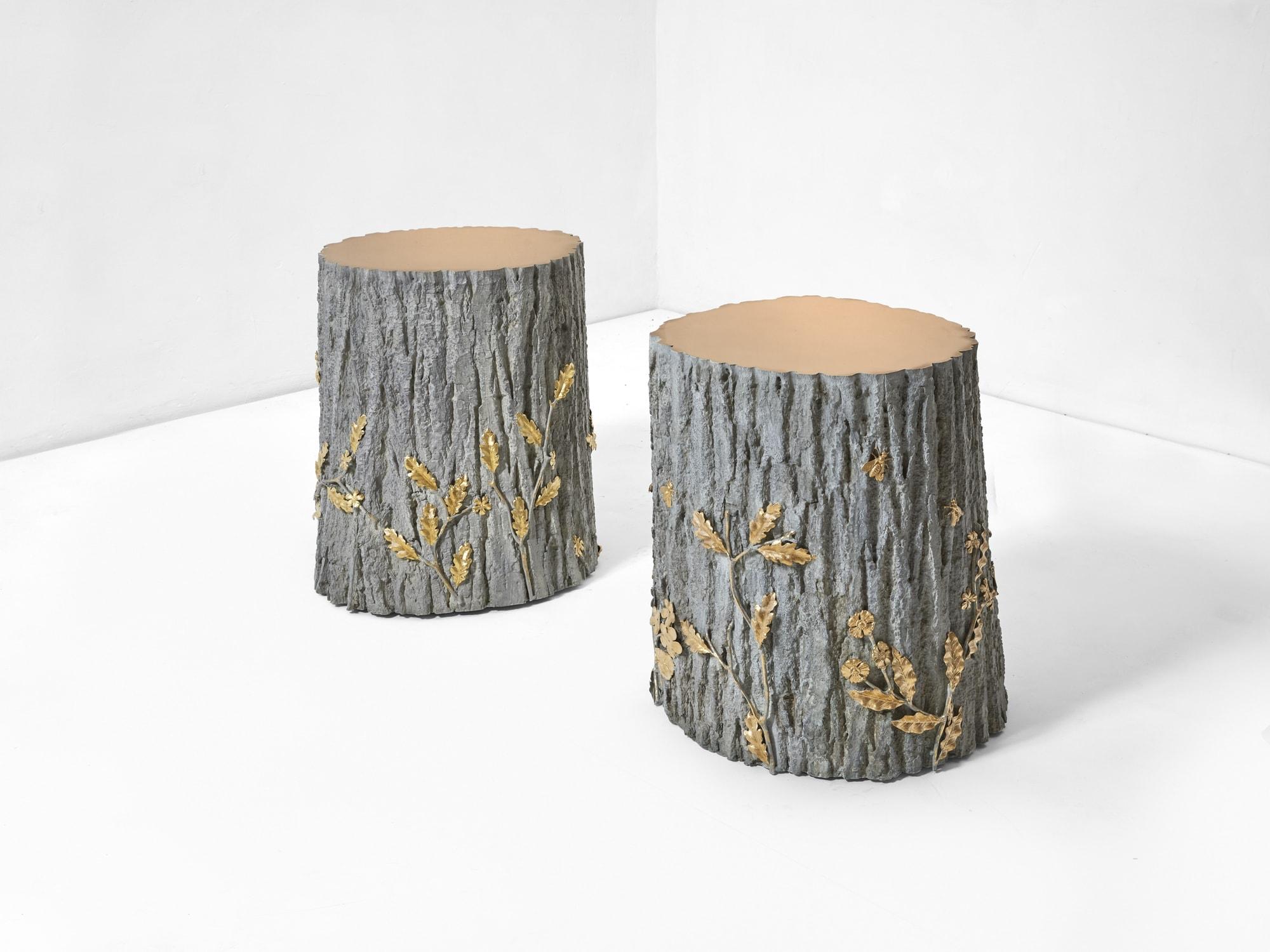Joy de Rohan Chabot, «Sous bois d'été» side table, vue 01