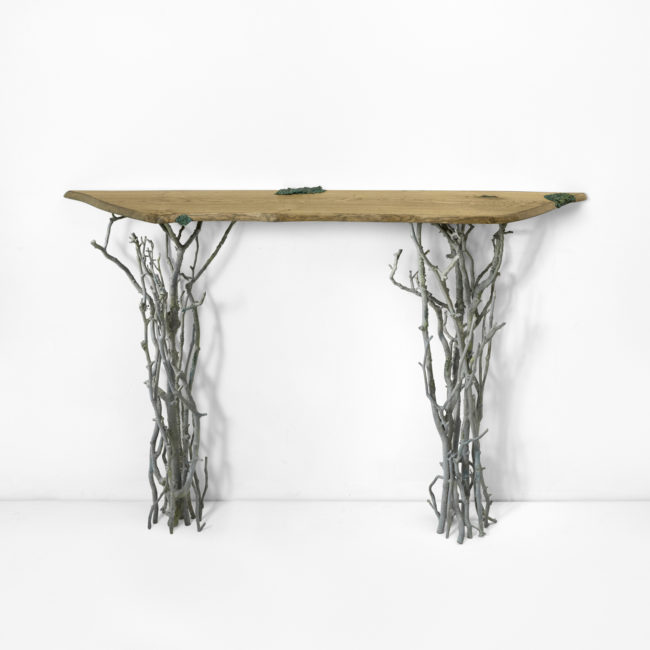 Joy de Rohan Chabot, «Les Fagots» console table