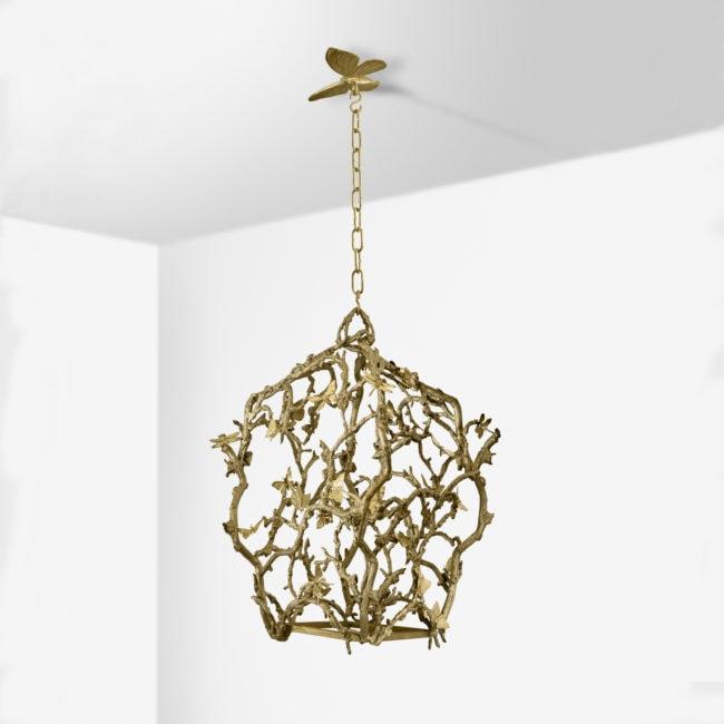 Joy de Rohan Chabot, Lanterne «Cages aux Papillons» (vendue)