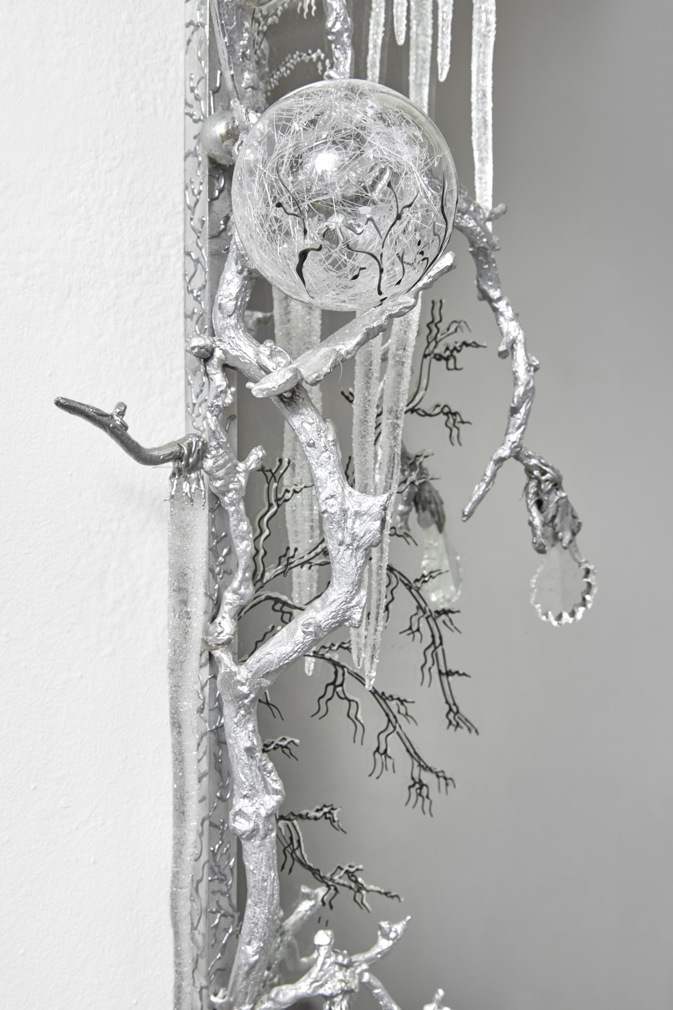 Joy de Rohan Chabot, Miroir «Matin Givré», vue 03