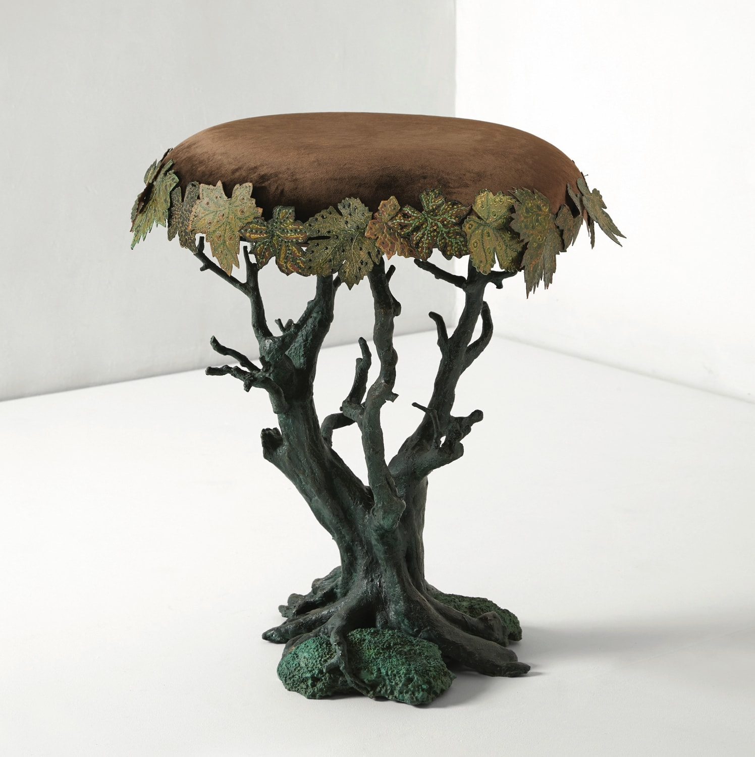 Joy de Rohan Chabot, «Bonsaï sycomore» stool, vue 01