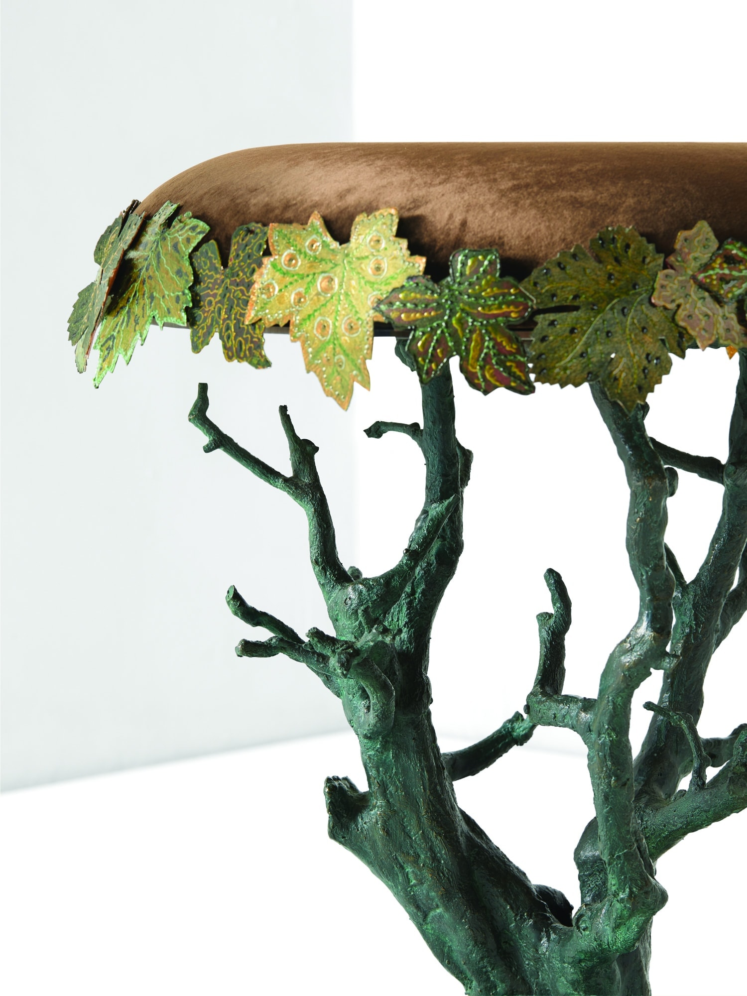 Joy de Rohan Chabot, «Bonsaï sycomore» stool, vue 02