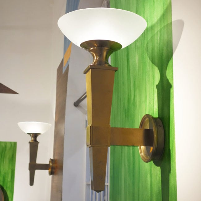 André Arbus, Pair of wall-lamps