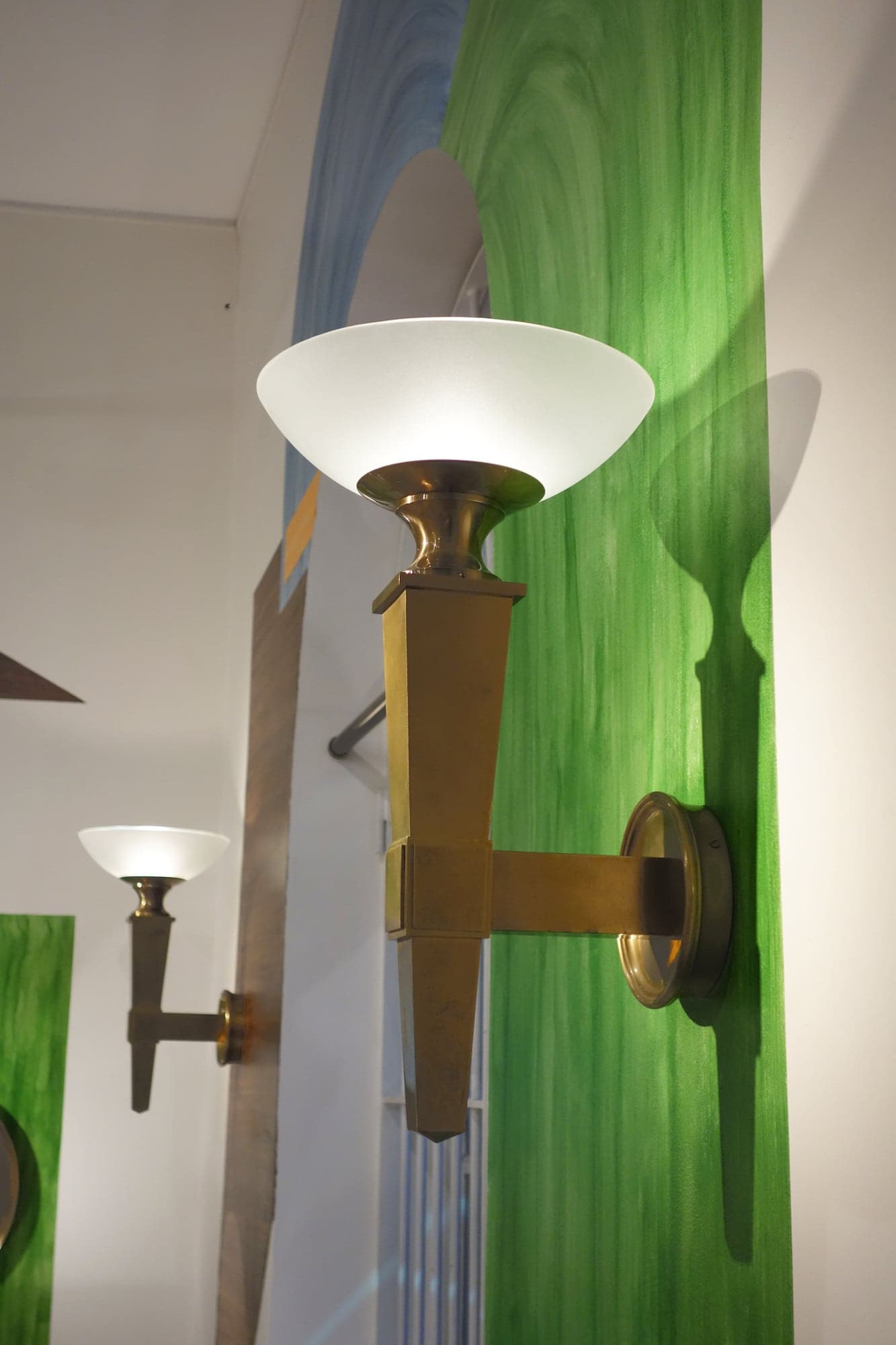 André Arbus, Pair of wall-lamps, vue 01