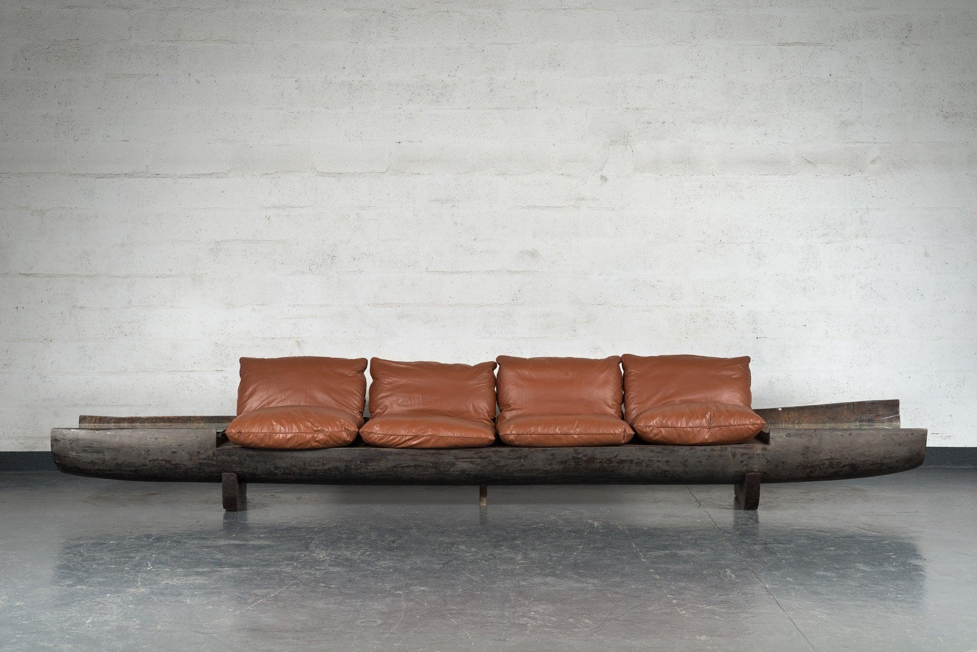 Zanine Caldas, Exceptional sofa (sold), vue 01