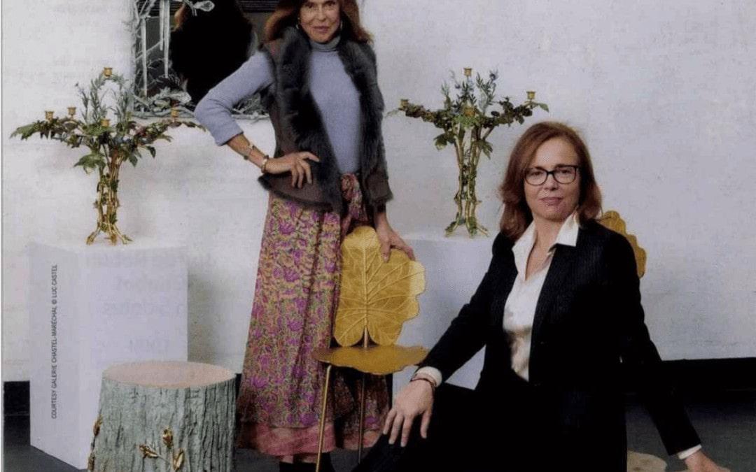 Gazette Drouot, Joy de Rohan Chabot et Aline Chastel, une rencontre magique, Décembre 2019