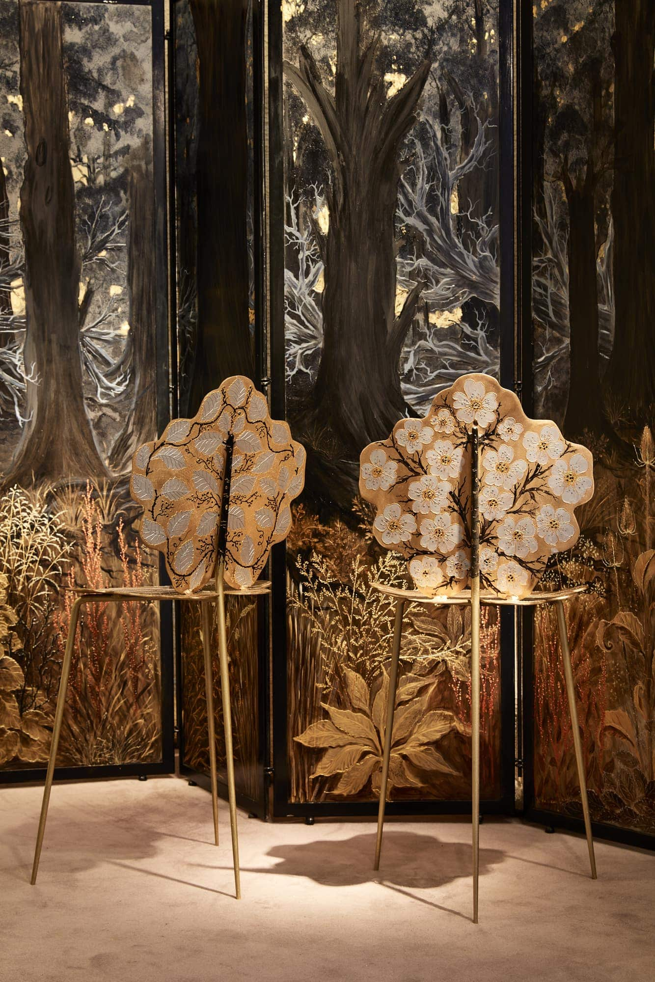 Joy de Rohan Chabot, Chaise «Feuilles d'Or», vue 03