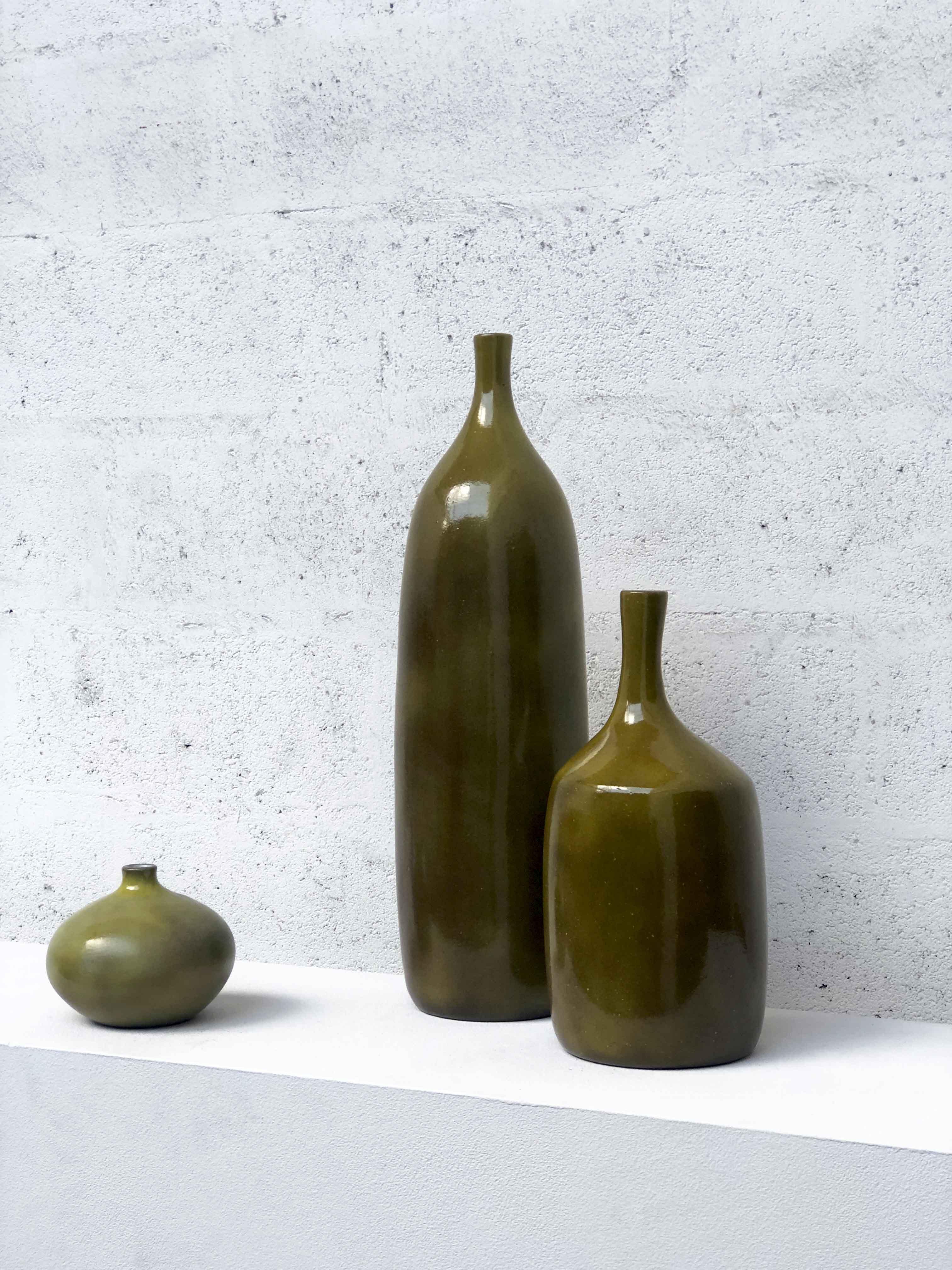 J. et D. Ruelland, Ensemble de trois vases, vue 01