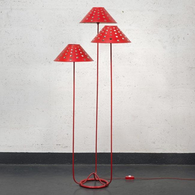 Jean Royère, Rare lampadaire «Champignon» (vendu)