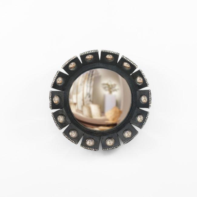 """Line Vautrin, Rare """"Mazarin"""" mirror – small model"""