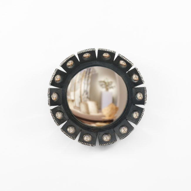 Line Vautrin, Rare miroir «Mazarin» – petit modèle