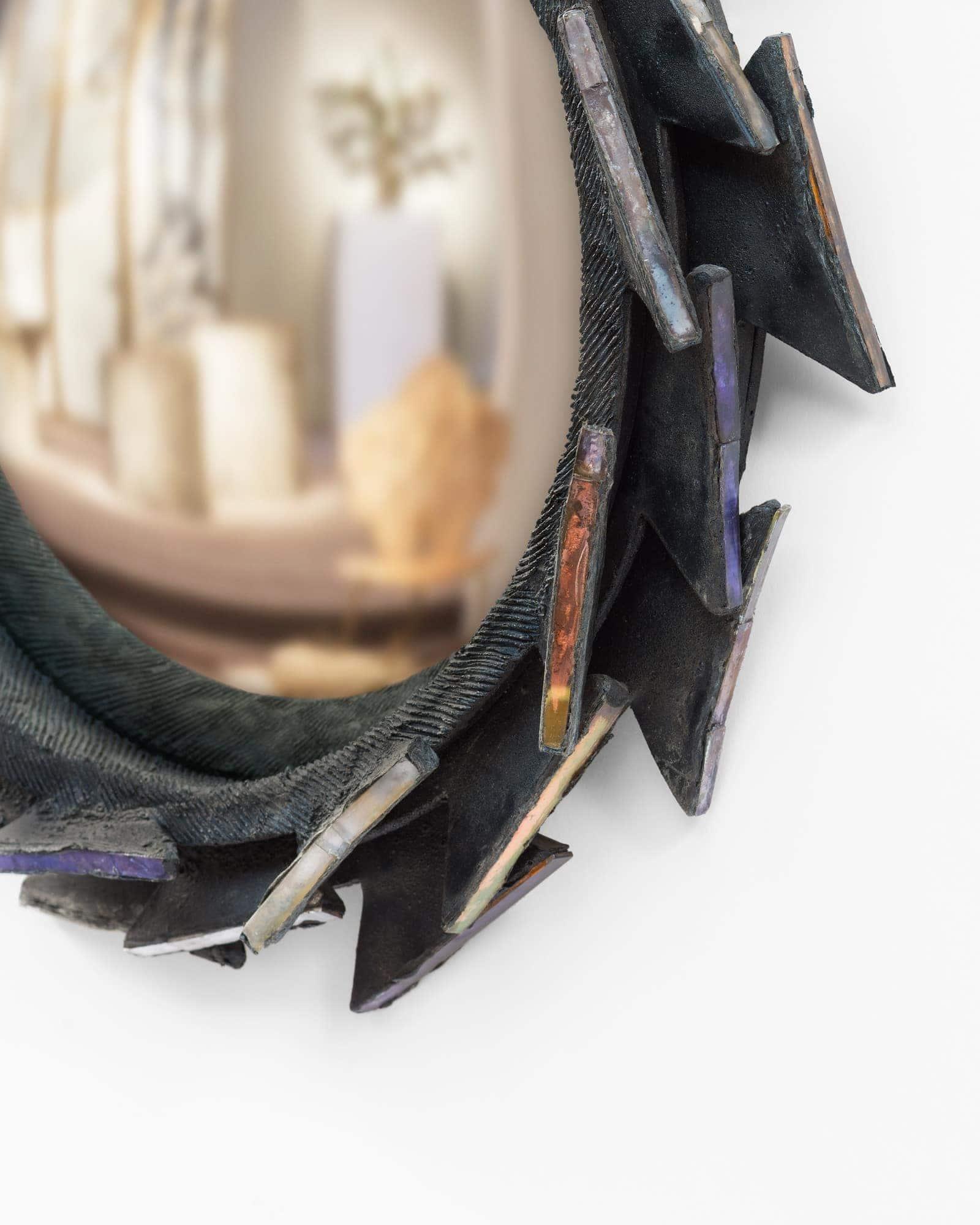 "Line Vautrin, Rare miroir ""Pacifique"", vue 03"