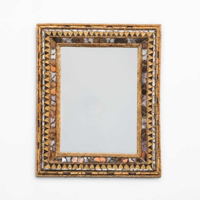 "Line Vautrin, ""Florence"" mirror (sold)"