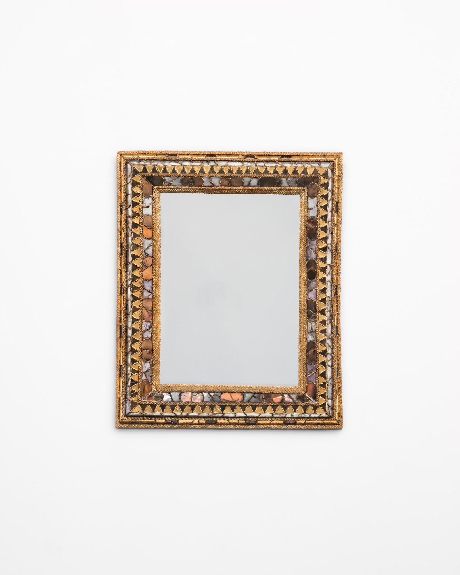 """Line Vautrin, Miroir """"Florence"""" (vendu), vue 01"""