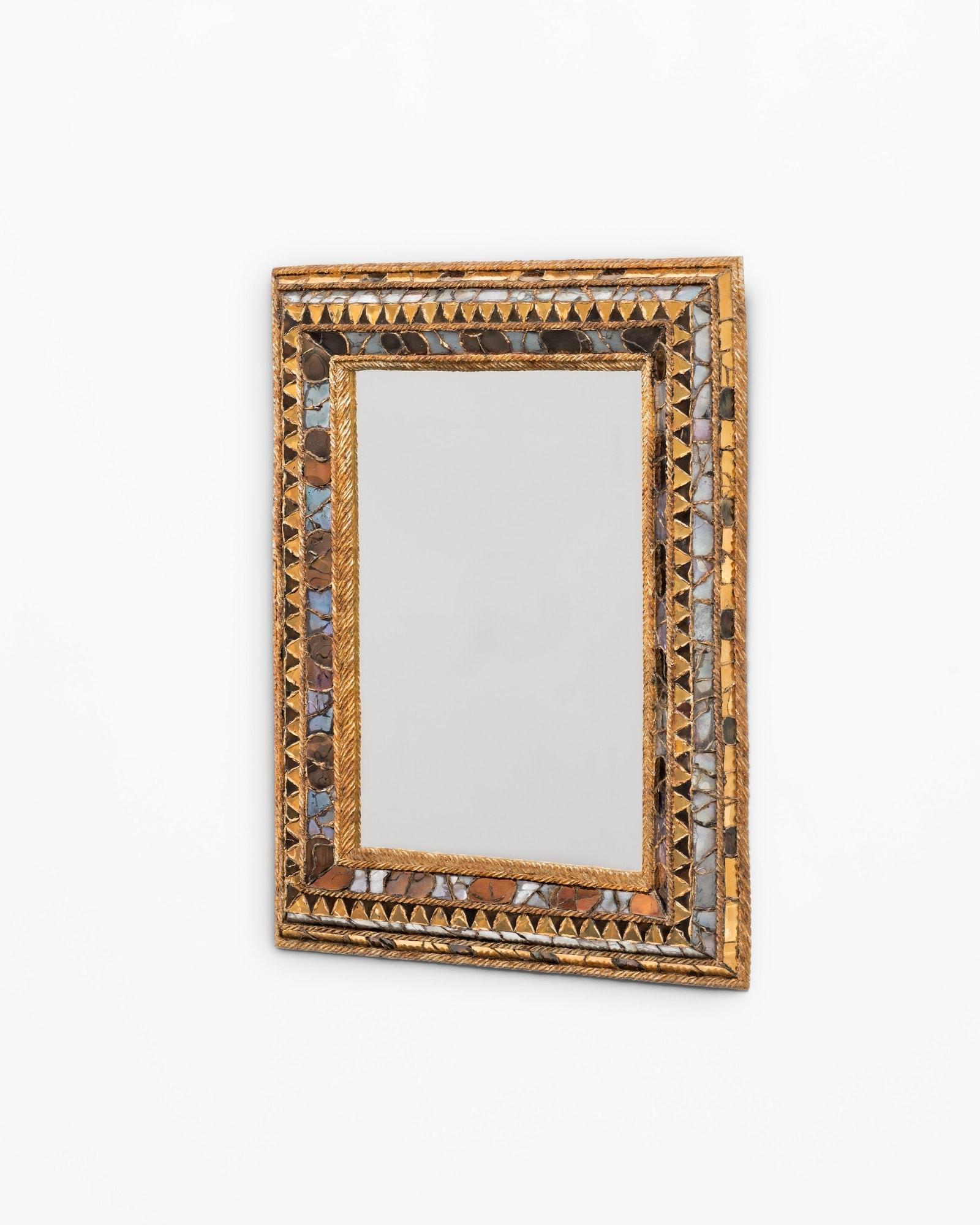 """Line Vautrin, Miroir """"Florence"""" (vendu), vue 02"""