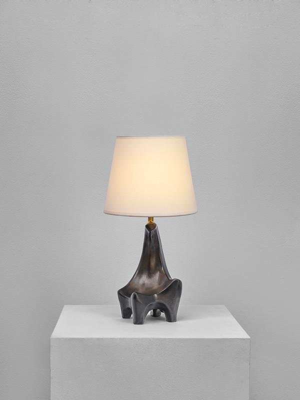 Georges Jouve, Lampe zoomorphe, vue 01