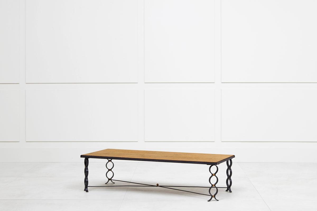 "Jean Royère, ""Ruban"" coffee table, vue 01"