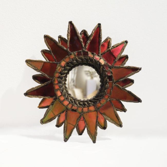 Line Vautrin, Miroir «Soleil à pointes n°0»