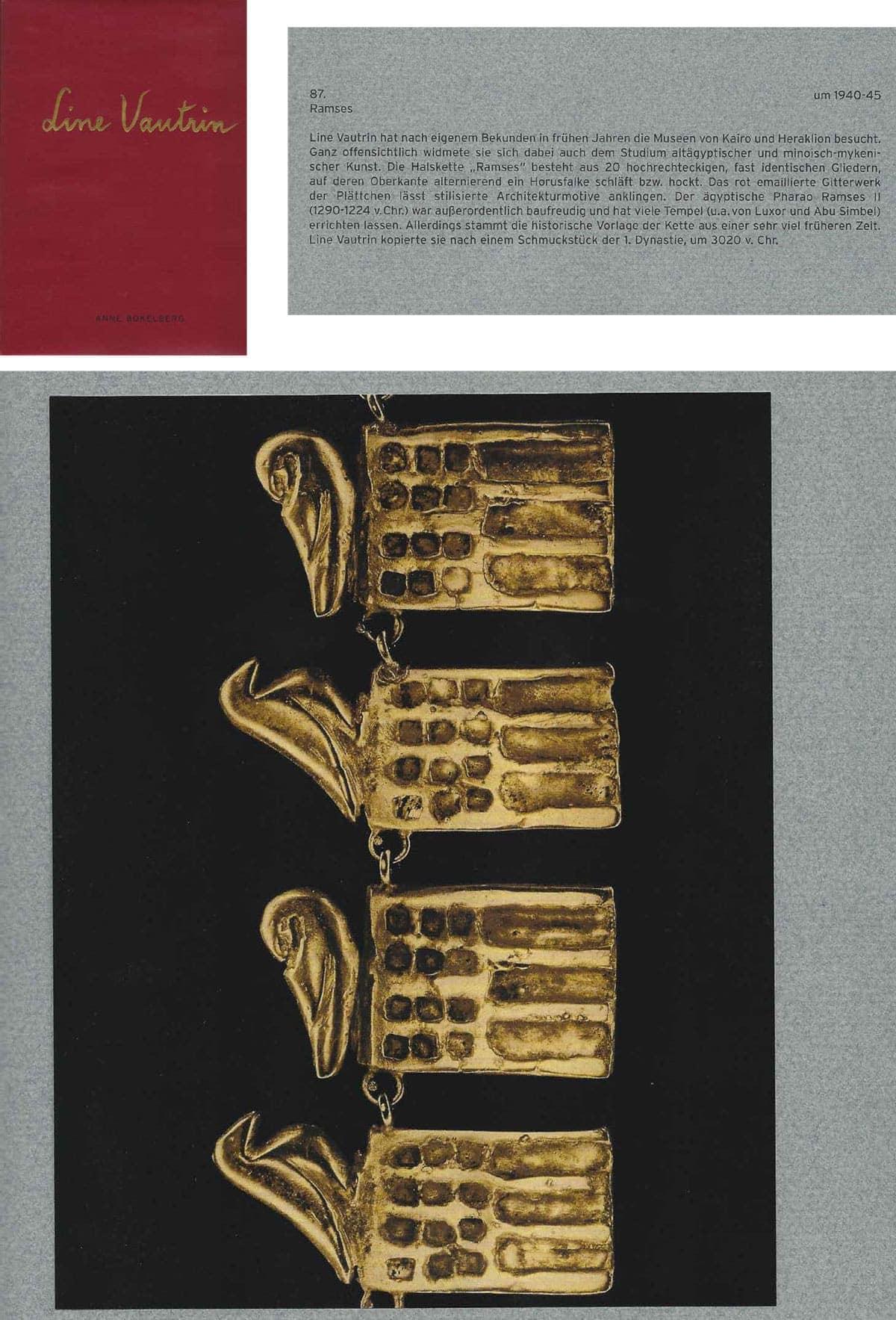 """Line Vautrin, Bracelet """"Ramses"""", vue 03"""