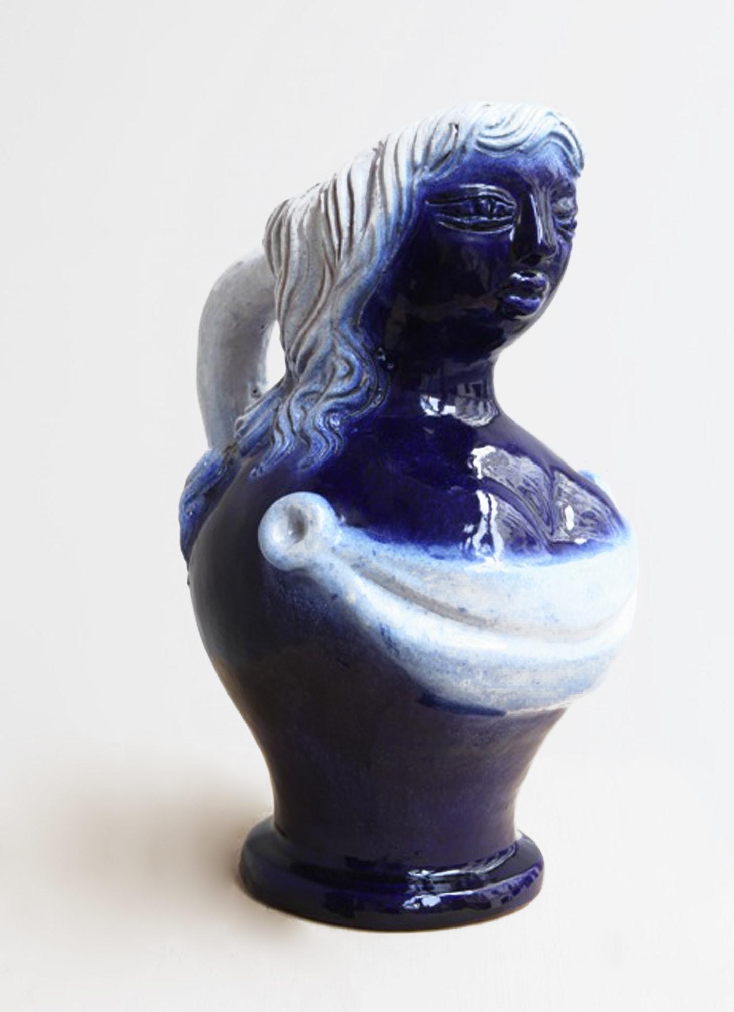 """Georges Jouve, Vase """"Femme Nichon"""", vue 01"""