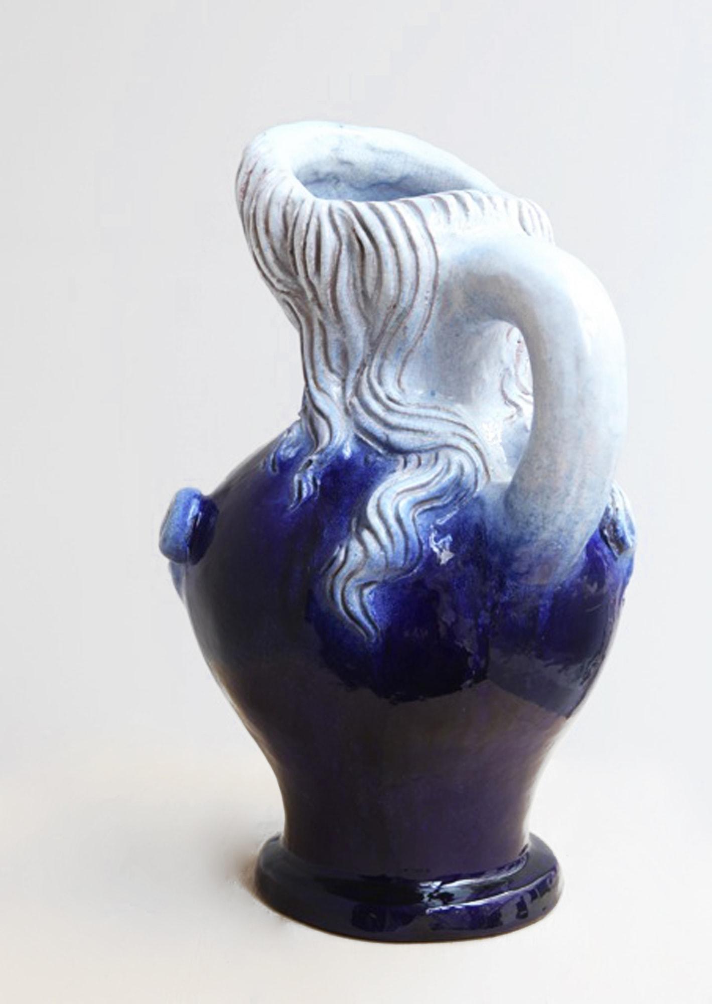 """Georges Jouve, Vase """"Femme Nichon"""", vue 02"""