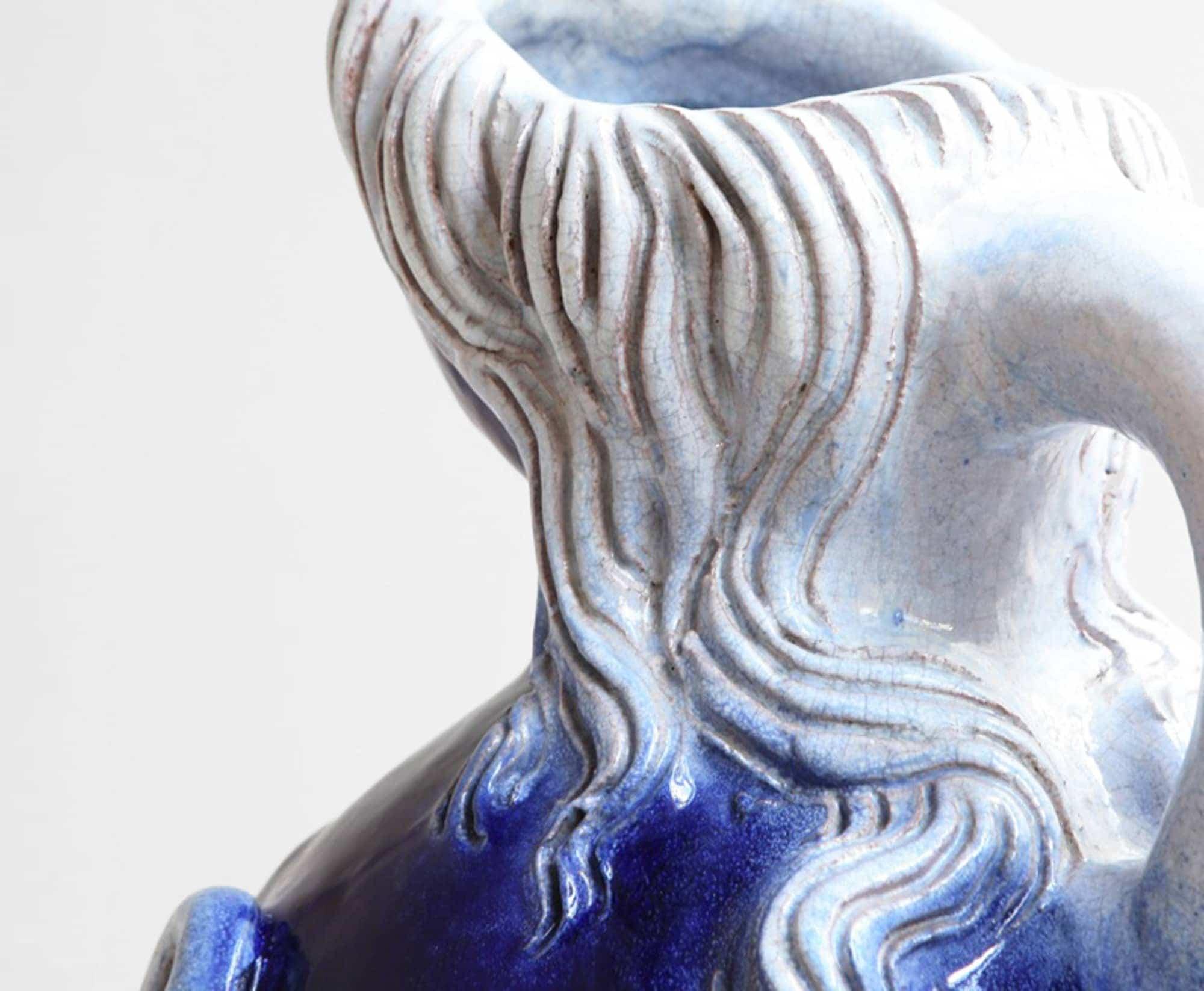 """Georges Jouve, Vase """"Femme Nichon"""", vue 03"""