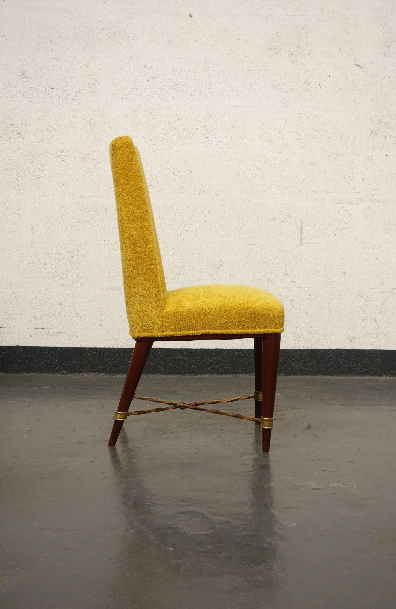 Jean Royère, Suite de 8 chaises, vue 02