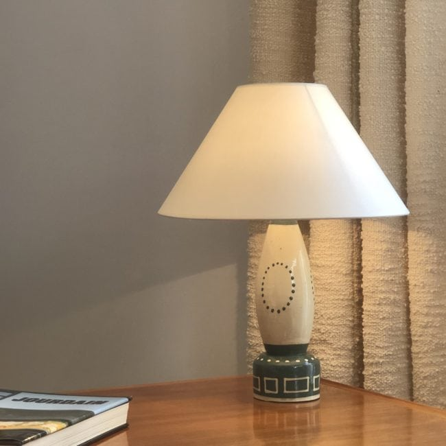 Francis Jourdain, Ceramic table lamp