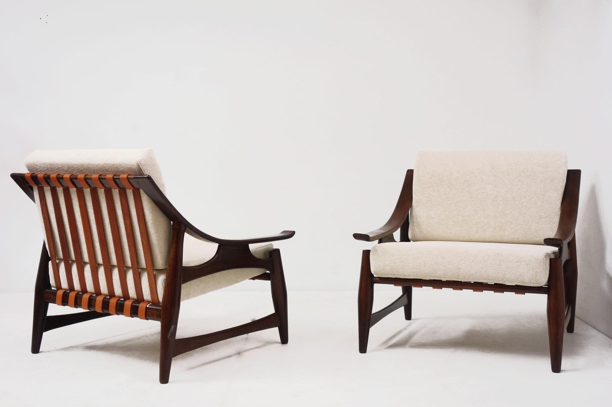 Liceu de Artes e Oficios, Paire de fauteuils, vue 02