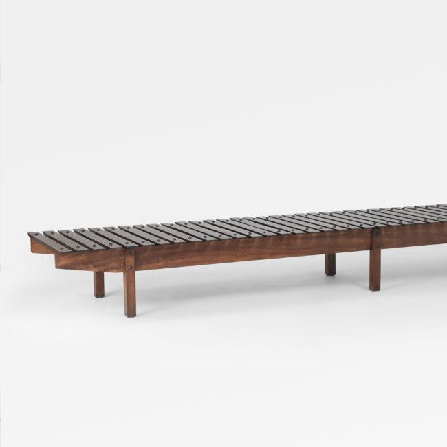 Sergio Rodrigues, 'Mucki' bench