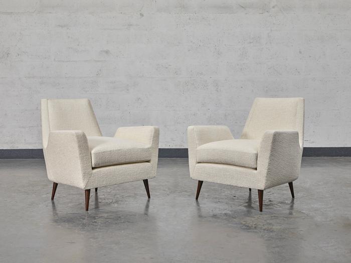 Carlo Hauner, Paire de fauteuils, vue 02
