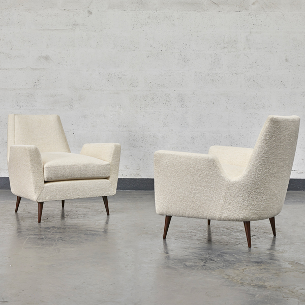 Carlo Hauner, Pair of armchairs