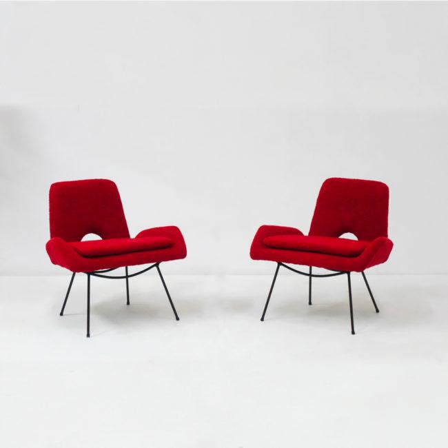 Carlo Hauner & Martin Eisler, Paire de fauteuils