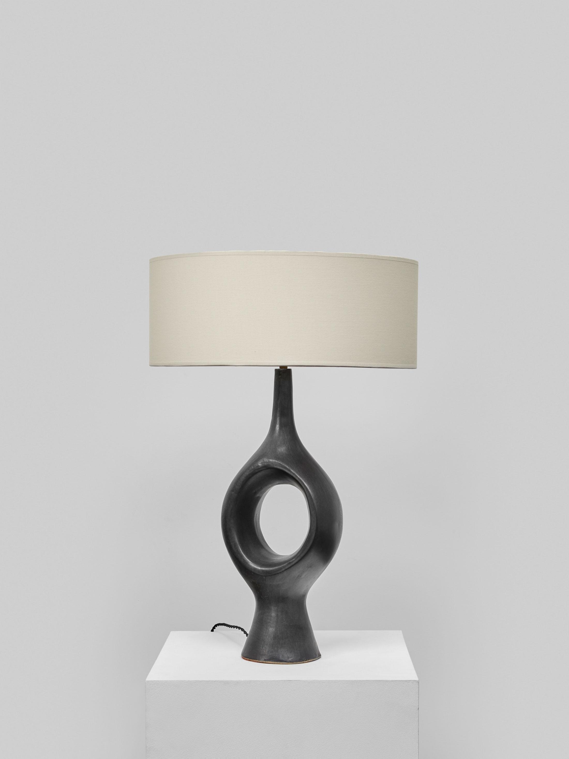 Georges Jouve, Exceptionnelle et rare lampe, vue 02