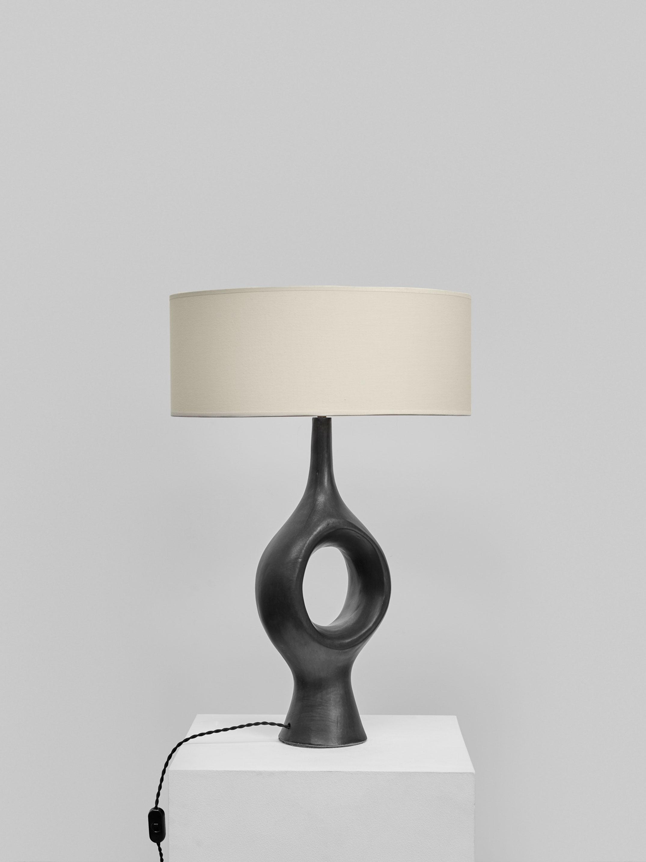 Georges Jouve, Exceptionnelle et rare lampe, vue 03