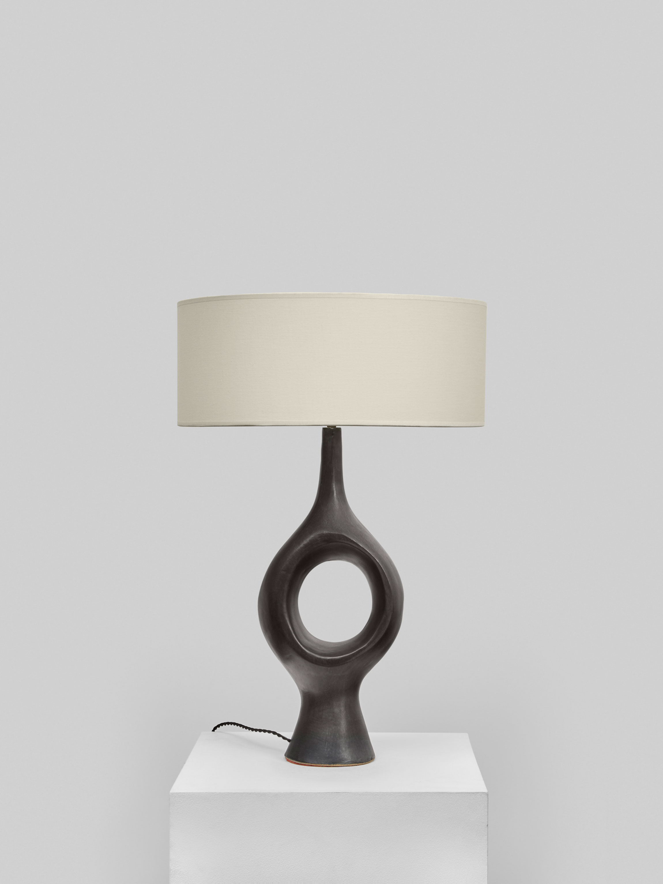 Georges Jouve, Exceptionnelle et rare lampe, vue 04
