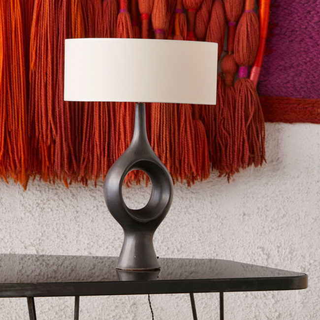 Georges Jouve, Exceptional and rare lamp