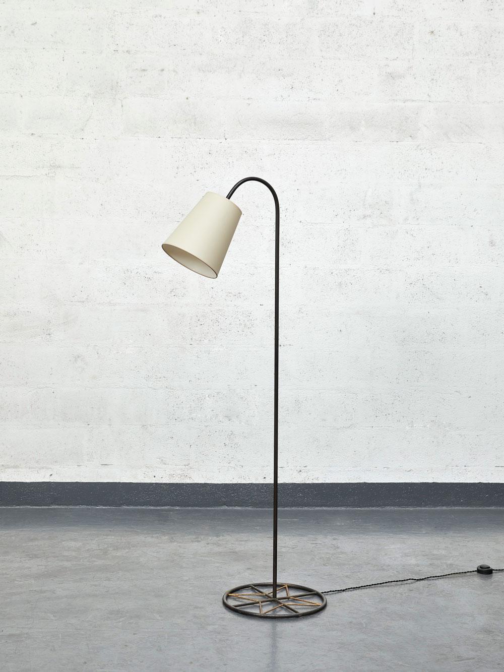 """Jean Royère, """"Ski"""" floor lamp, vue 02"""