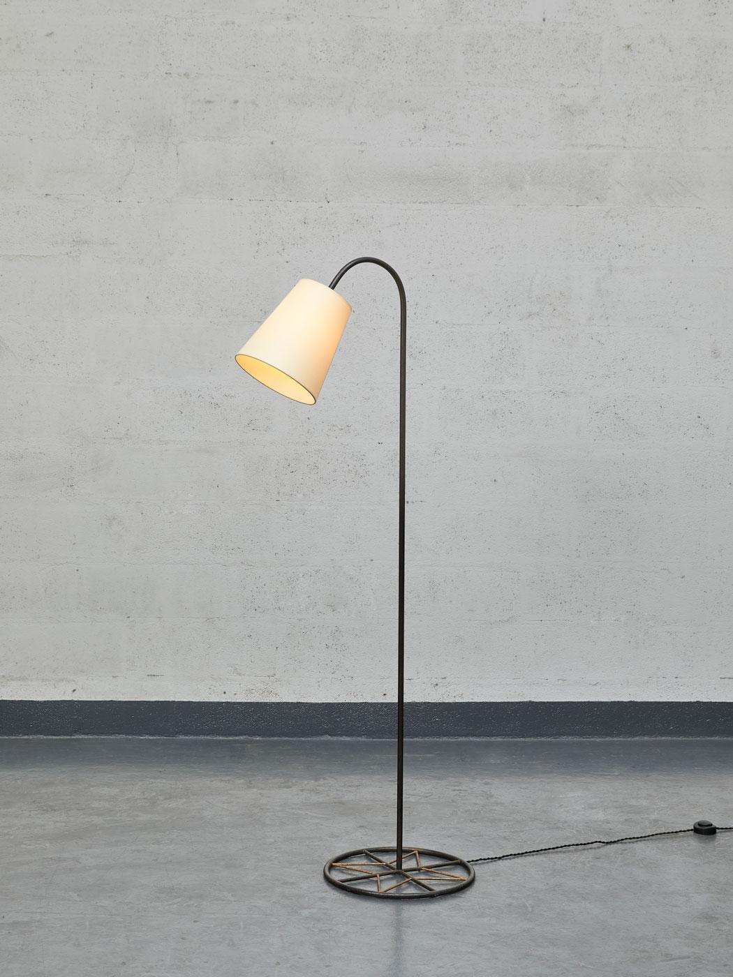 """Jean Royère, """"Ski"""" floor lamp, vue 01"""