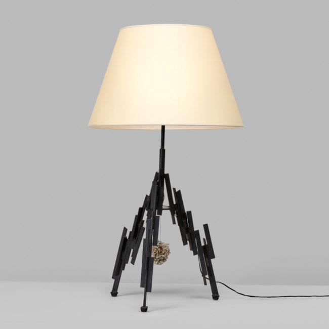 Marc Du Plantier, Importante lampe