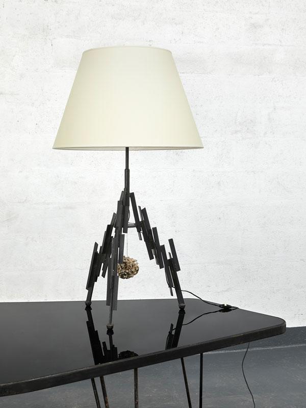 Marc Du Plantier, Importante lampe, vue 03