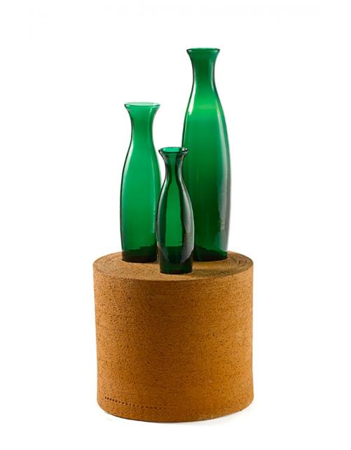 Matteo Thun, Ensemble de 5 vases, vue 02