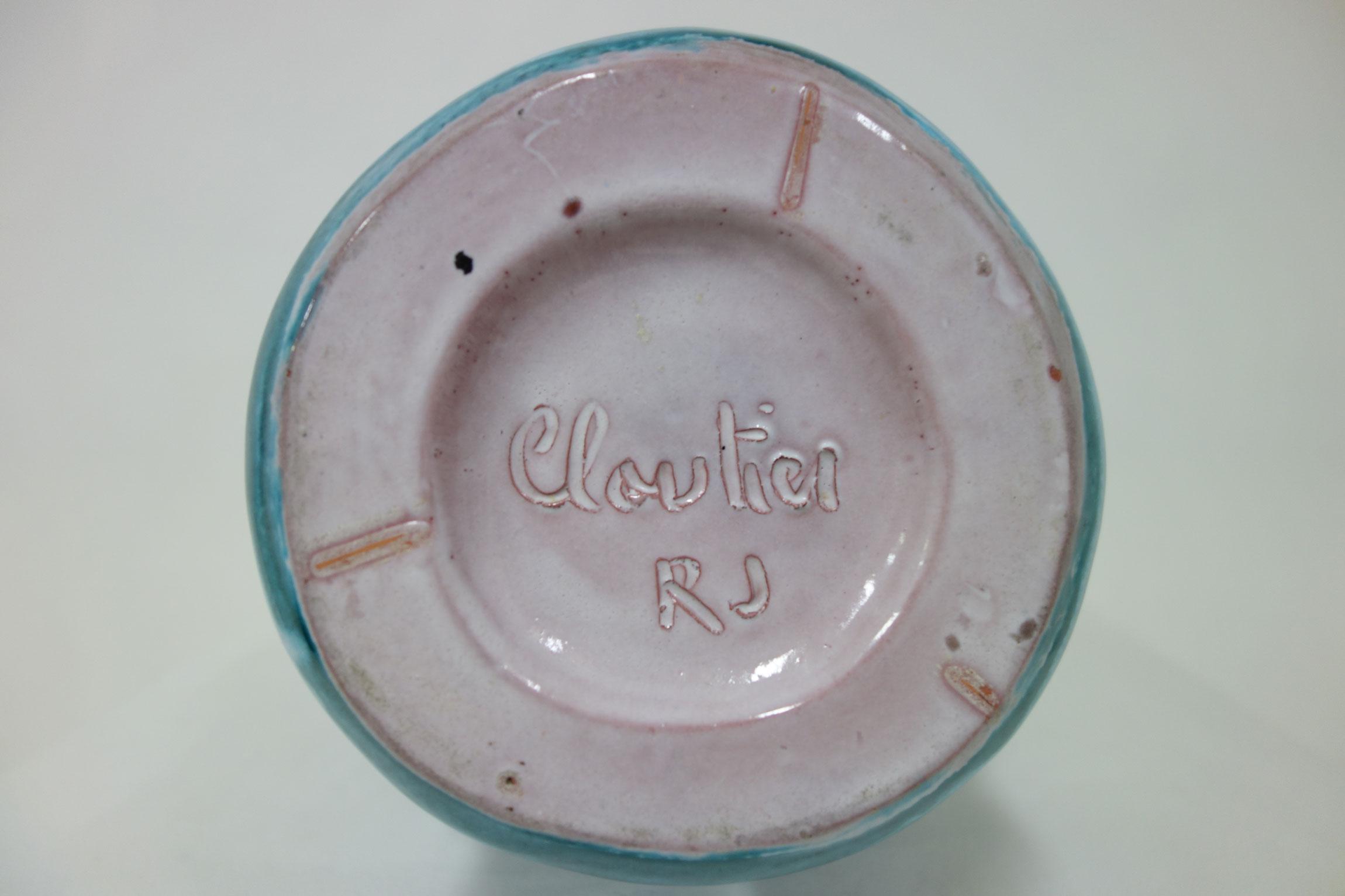 """Robert & Jean Cloutier, Vase """"Gigi"""" monté en lampe, vue 02"""