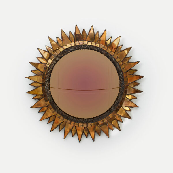 "Line Vautrin, ""Soleil à pointes"" mirror"