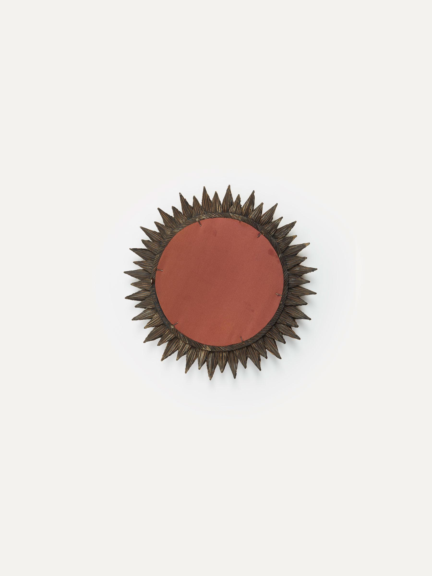 """Line Vautrin, Miroir """"Soleil à pointes"""", vue 03"""