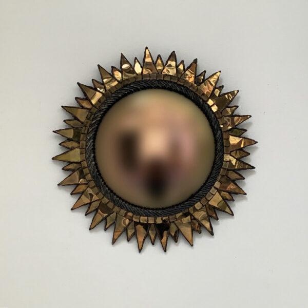 """Line Vautrin, Miroir """"Soleil à pointes"""""""