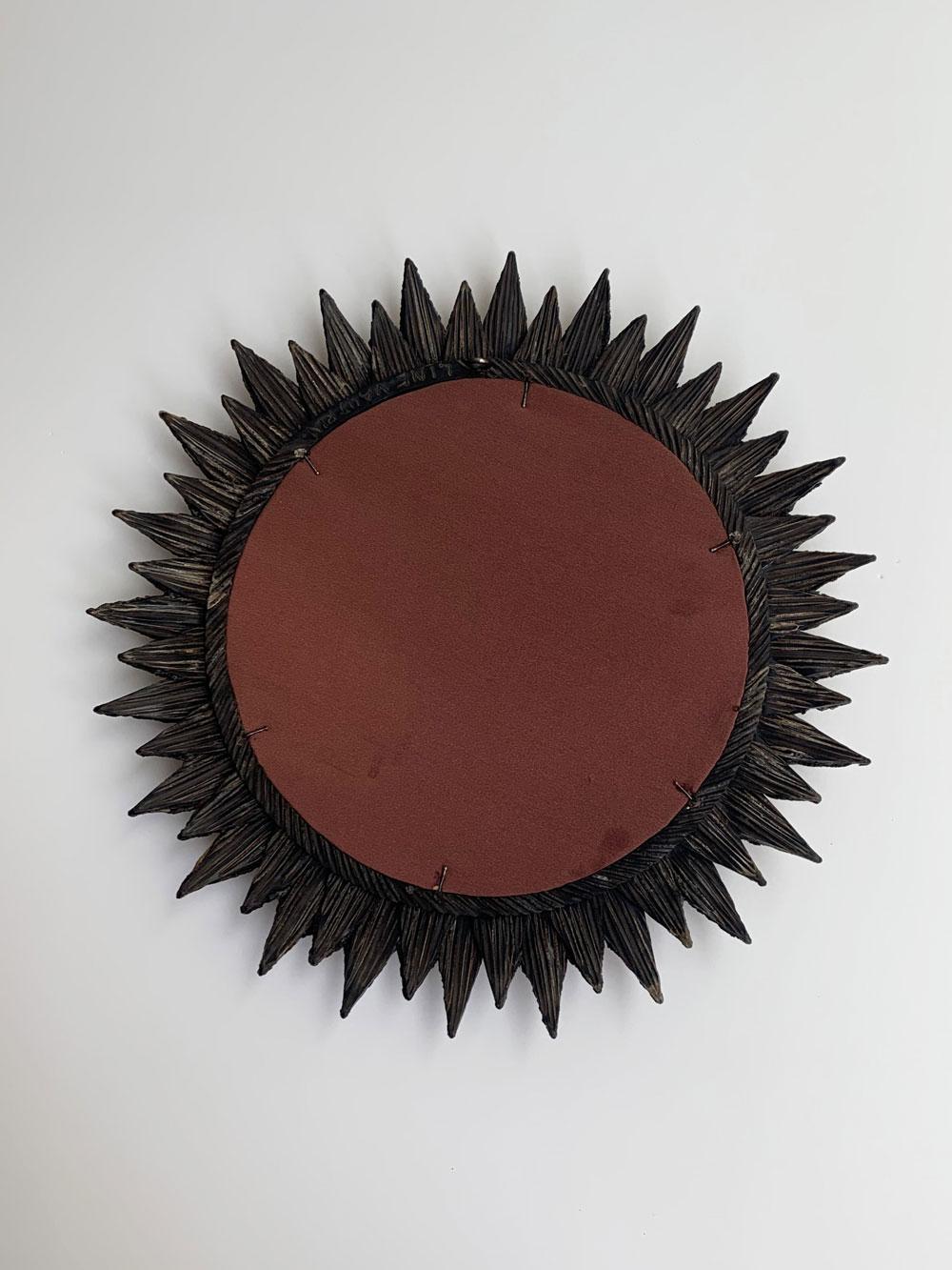 "Line Vautrin, ""Soleil à pointes"" mirror, vue 02"
